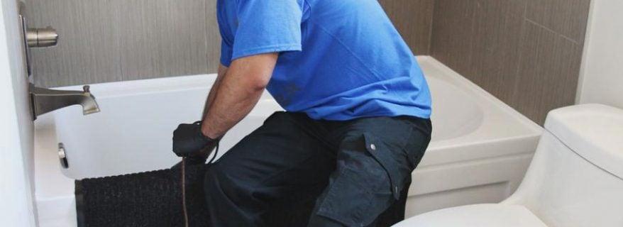 drain clean bathtub