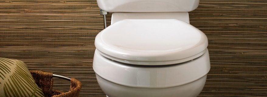 toilet installed