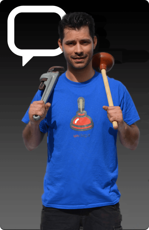 chat with plumber