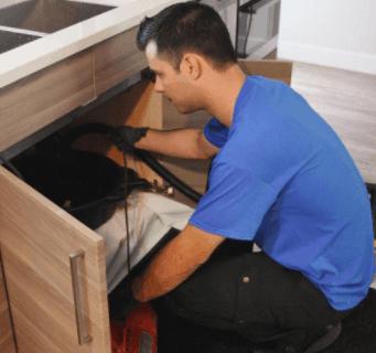 kitchen sink drain cleaning