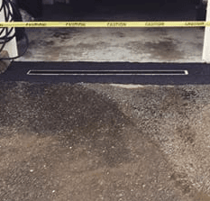 trench drain installation