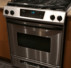 gas range installation cost