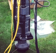 sewer pump installation cost